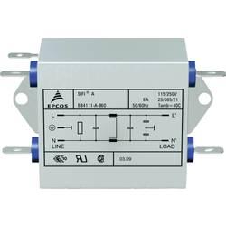 Odrušovací filtr Epcos B84111AB60, SIFI A, 2x 6 A, 250 V