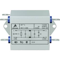 Odrušovací filtr Epcos B84111AB120, 115/250 V, 50 až 60 Hz, 250 V/AC, 20 A