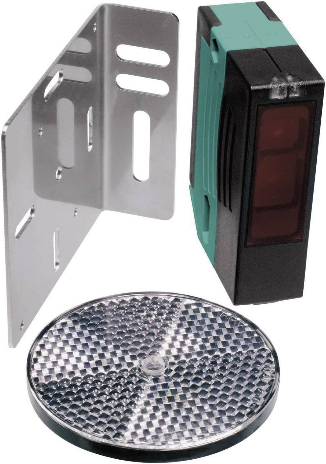 Sada reflexní optické závory Pepperl & Fuchs RLK29-55/25/116-Set, svorkovnice, dosah 0 - 12 m