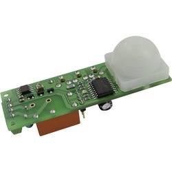 PIR senzor SMD s časovačem B & B Thermo-Technik PIR-ASIC-FRES, 12 V/DC, Max. dosah 10 m