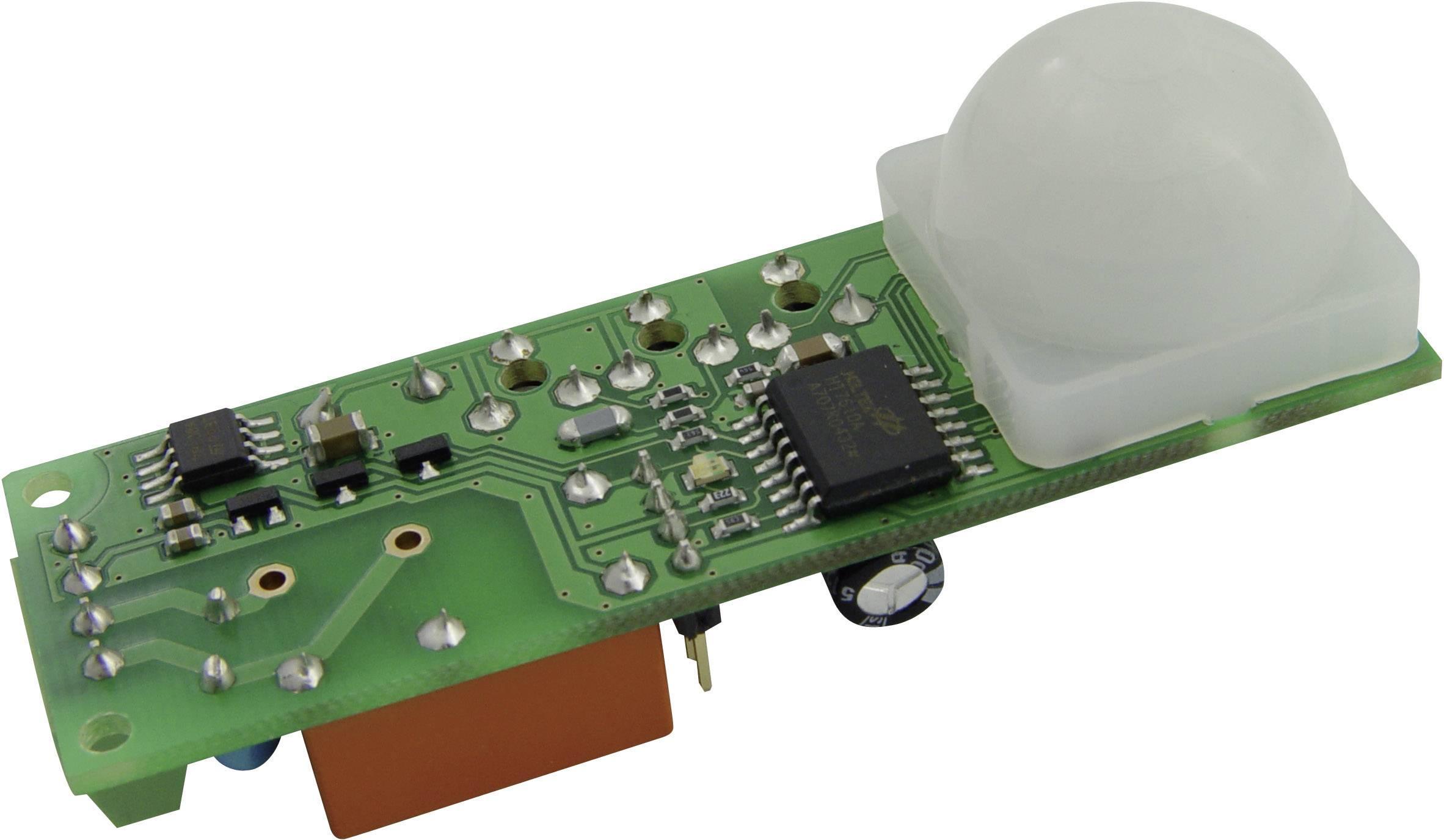 PIR senzor SMD s časovačom B+B Thermo-Technik PIR-ASIC-FRES, 12 V/DC, max. dosah 10 m