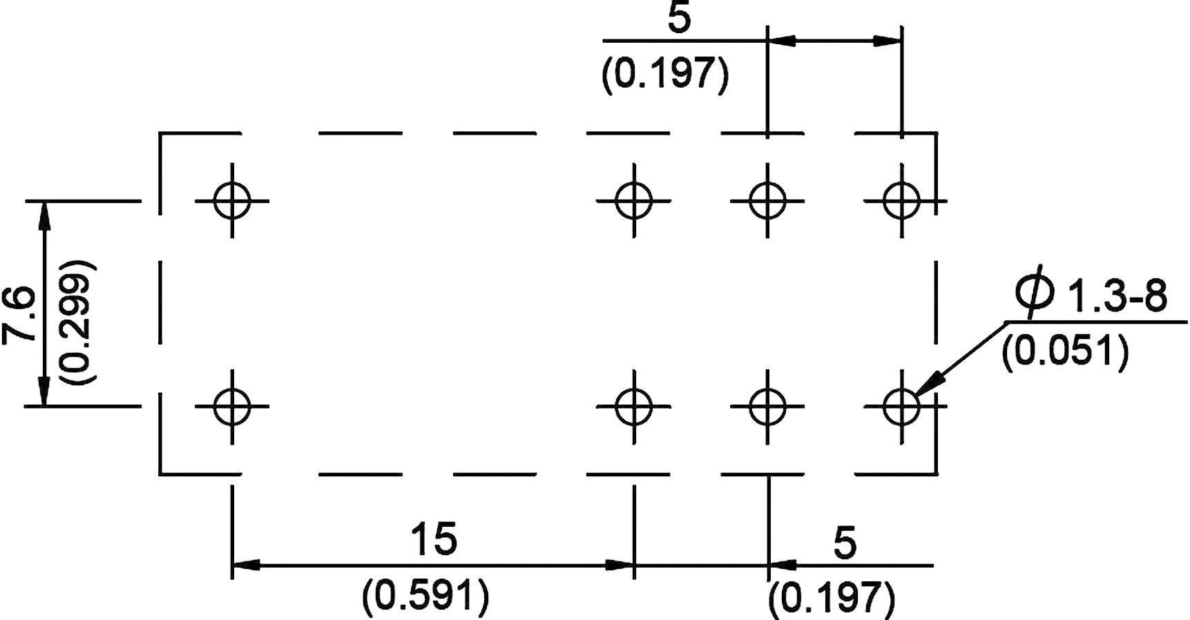 Zátěžové relé série 888 Song Chuan 888N-2CCFCE 12, 888N-2CCFCE 12, 400 mW, 12 A, 440 V/AC 3000 VA