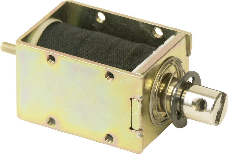 Magnet Intertec ITS-LS2924B-D-24VDC, v plechovém třmeni