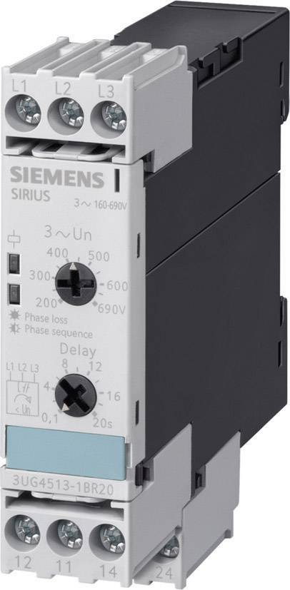 Analogové sledovací relé Siemens 3UG4511-1BP20, 320 - 500 V/AC