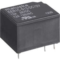 Relé do DPS 502642, 12 V/DC, 12 A, 1 prepínací, 1 ks