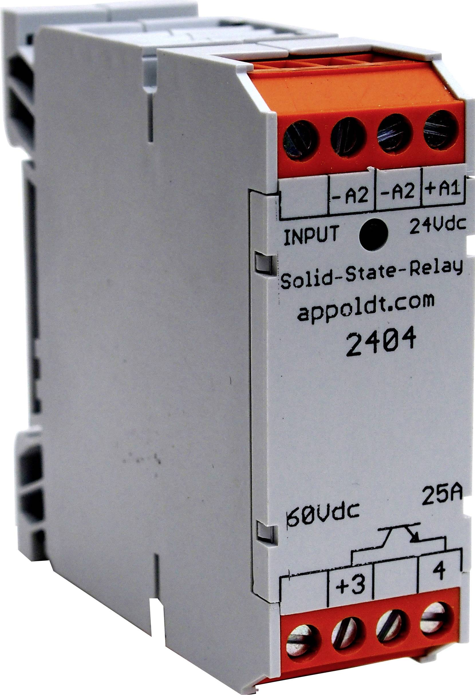 Polovodičové relé Appoldt POK22-24V/25 2404, 25 A, 1 ks
