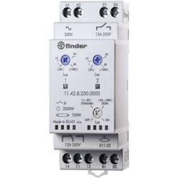 Soumrakový spínač Finder 11.42.8.230.0000, 230 V/AC, 1, 20 - 80, 1000 lx, lx, 1 přepínací kontakt, 1 spínací kontakt, 1 ks