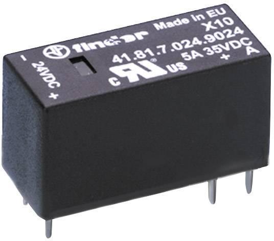 Optočlen (SSR) vysoký 15,7 mm, série 41.81.7.024.9024 Finder Proud při zatížení 5 A Spínací napětí 1.5 - 35 V/DC 1 ks