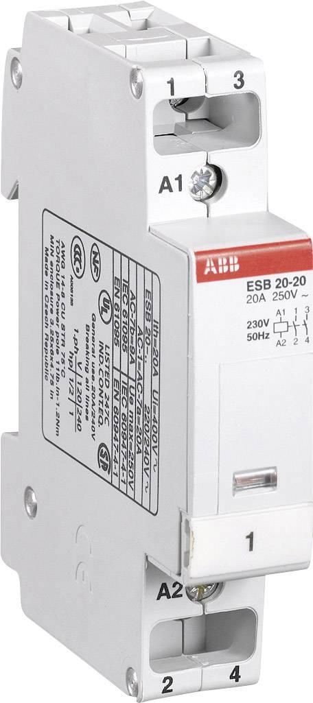 Instalační stykač ABB, GH E329 1102 R 0006, ESB 24-40, 4 spínače, 230 - 240 V/50 Hz