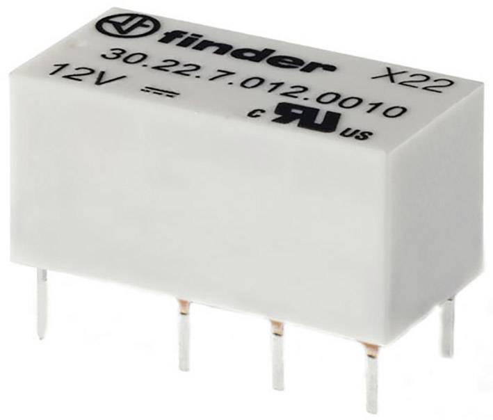 Relé do DPS Finder 5 V/DC, 1.25 A, 2 prepínacie, 1 ks