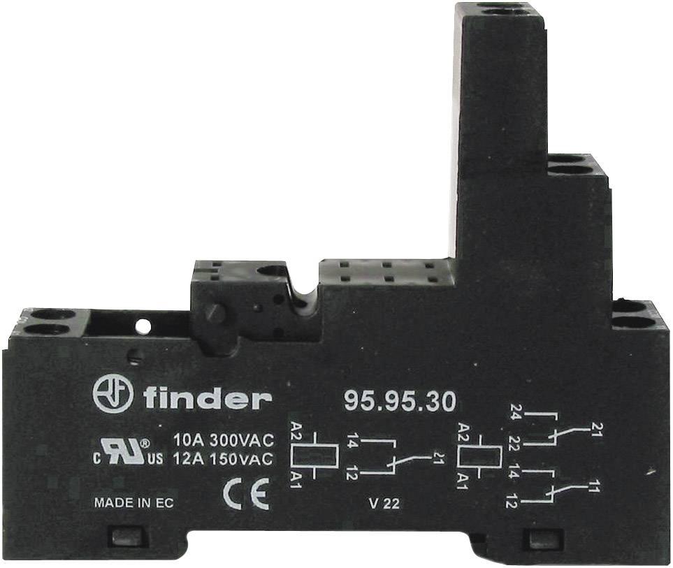 Patice pro relé Finder 95.83.30, 15,5 x 42,7 x 75 mm