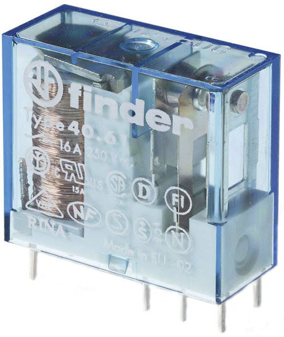 Relé do DPS Finder 60 V/DC, 16 A, 1 prepínací, 1 ks