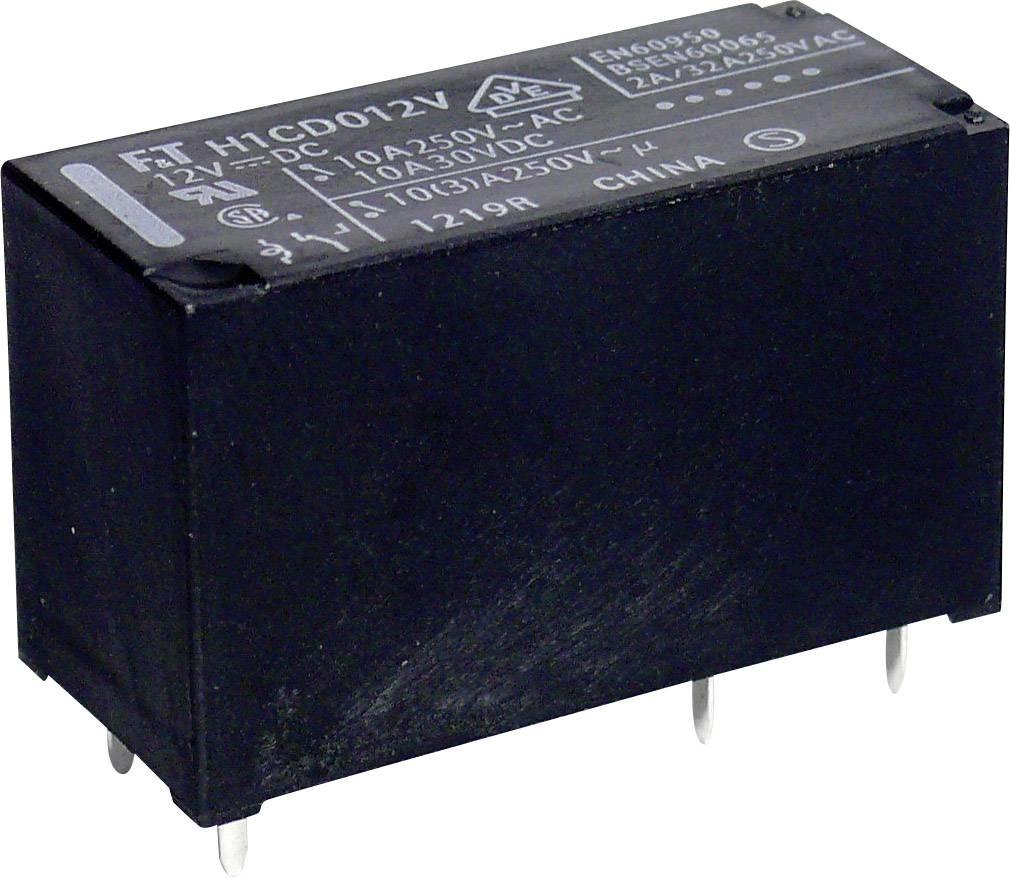 Relé do DPS Takamisawa 12 V/DC, 10 A, 1 prepínací, 1 ks