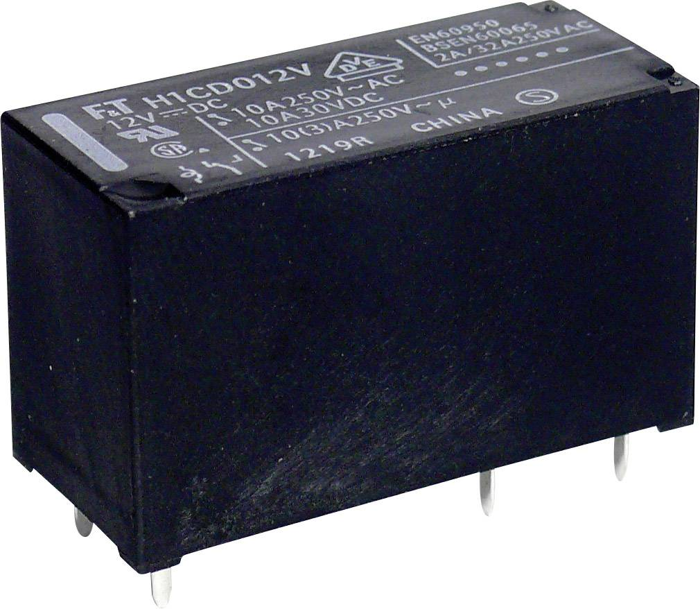 Relé do DPS Takamisawa FTR-H1 CD 024, 24 V/DC, 10 A, 1 prepínací, 1 ks