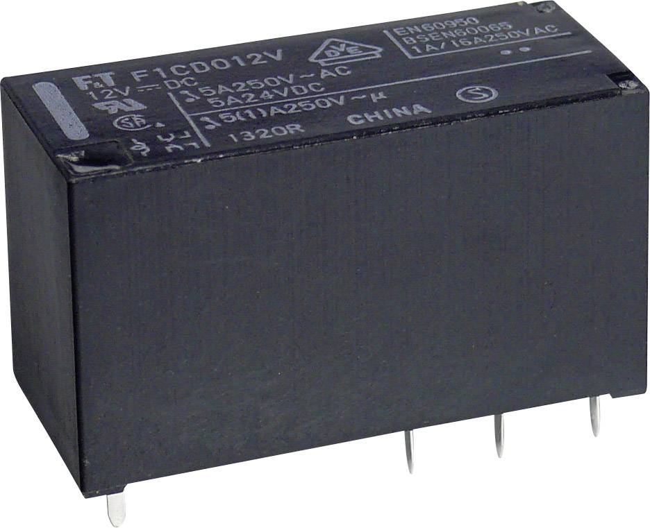 Relé do DPS Takamisawa FTR-F1 CD 012, 12 V/DC, 5 A, 2 prepínacie, 1 ks