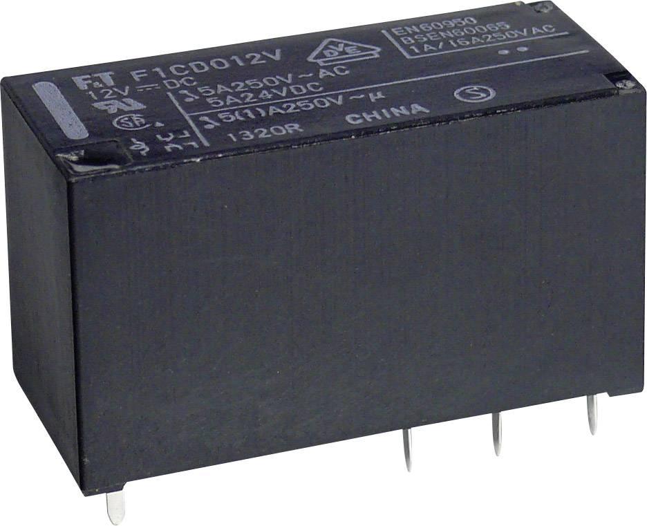 Relé do DPS Takamisawa FTR-F1 CD 012, 12 V/DC, 5 A, 2 prepínacie, 1 ks