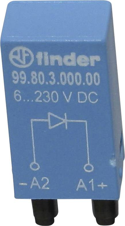 Odrušovací modul Finder 99.80.3.000.00, 6 - 220 V