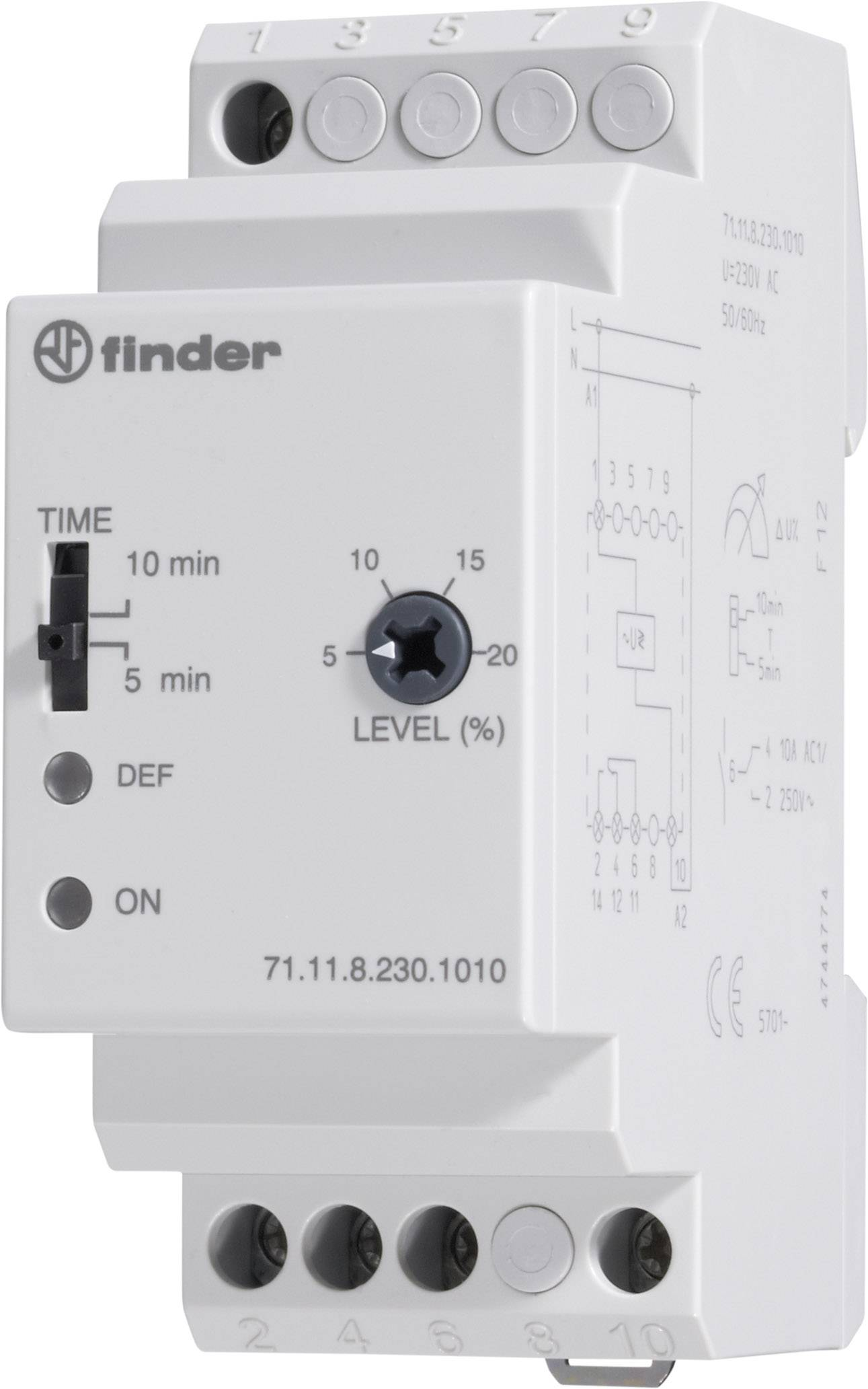 Monitorovací relé Finder 71.11.8.230.1010