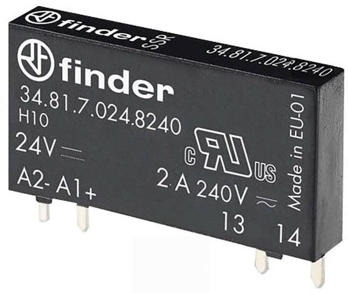 Polovodičové relé Finder 34.81.7.024.8240 34.81.7.024.8240, 2 A, 1 ks