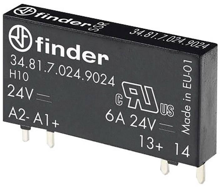 Polovodičové zátěžové relé Finder 34.81.7.024.9024, 24 V