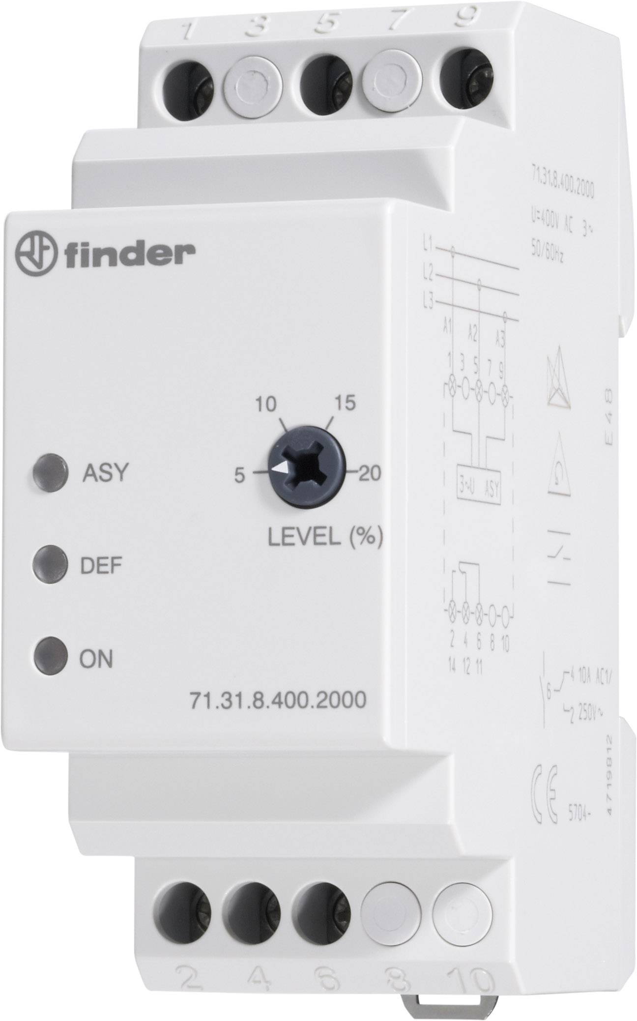 Kontrolné relé Finder 71.31.8.400.2000