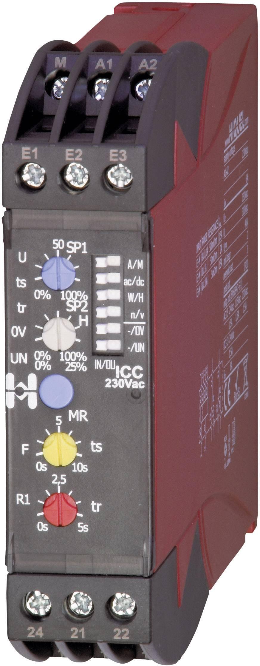 Monitorovací relé in-case Hiquel, ICC 230Vac, in-case