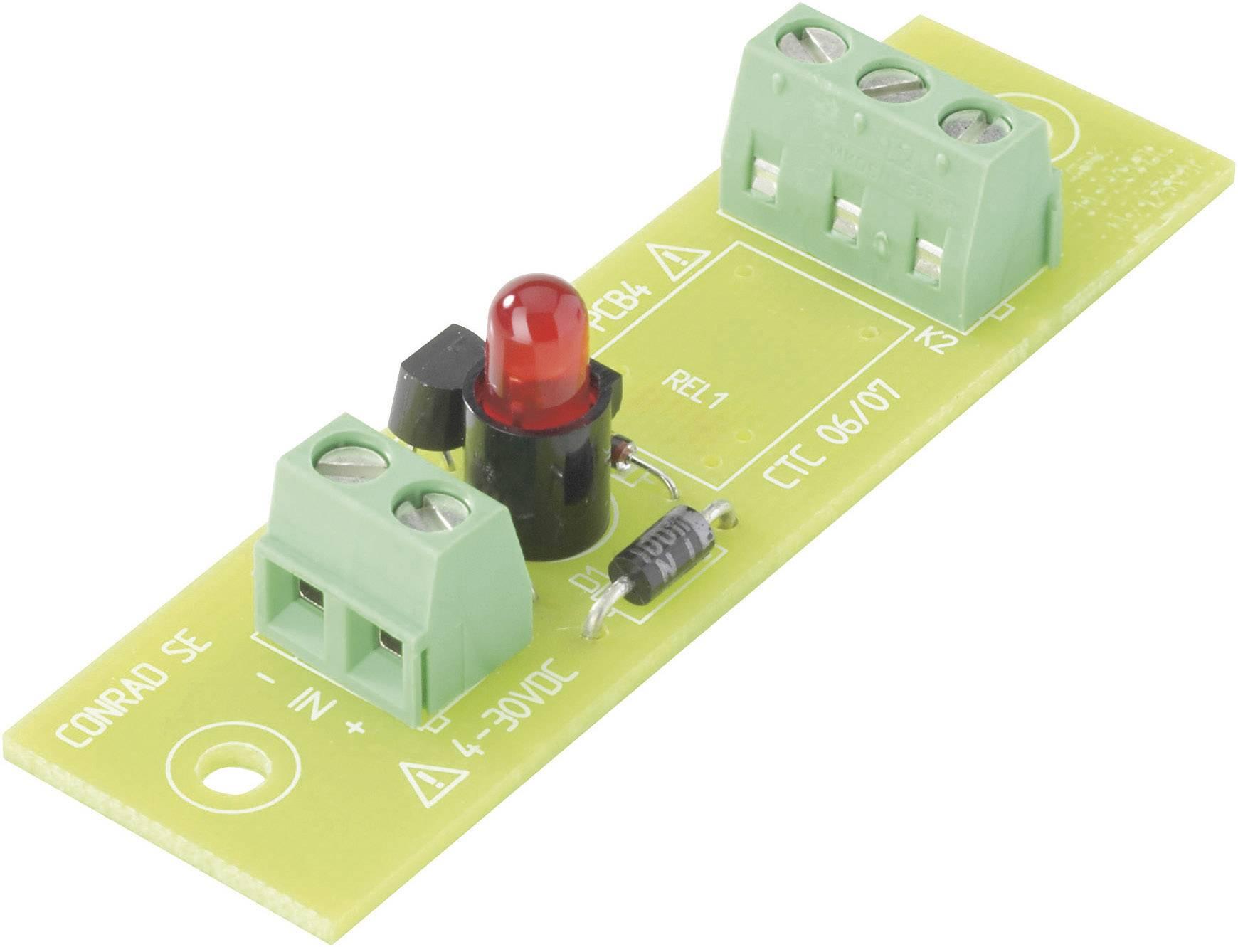 Deska relé REL-PCB4 0, bez relé, 4 - 30 VDC