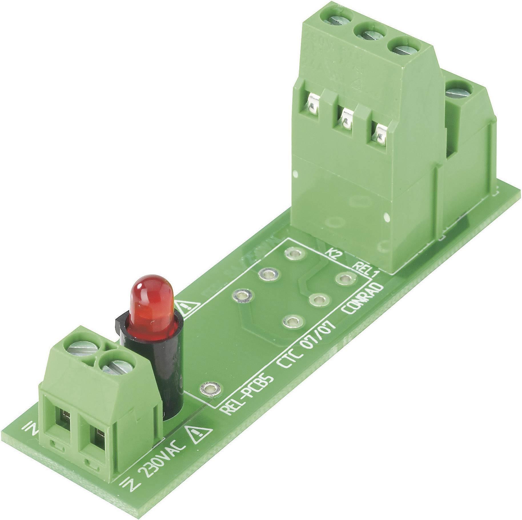 Doska s relé Conrad Components REL-PCB5 0 503331