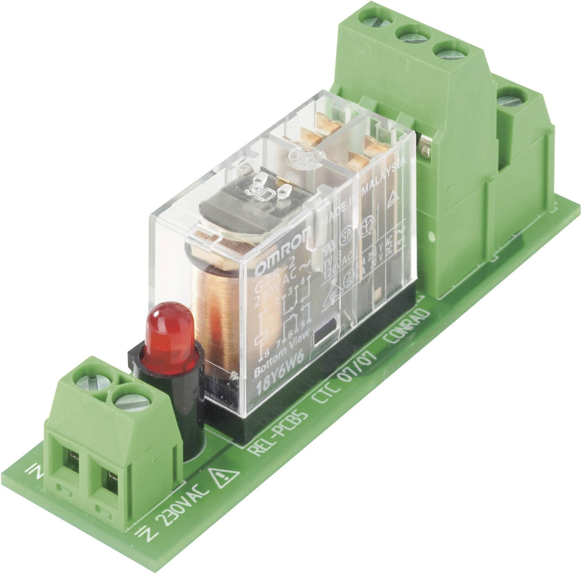 Deska s relé TRU COMPONENTS REL-PCB5 1 503332