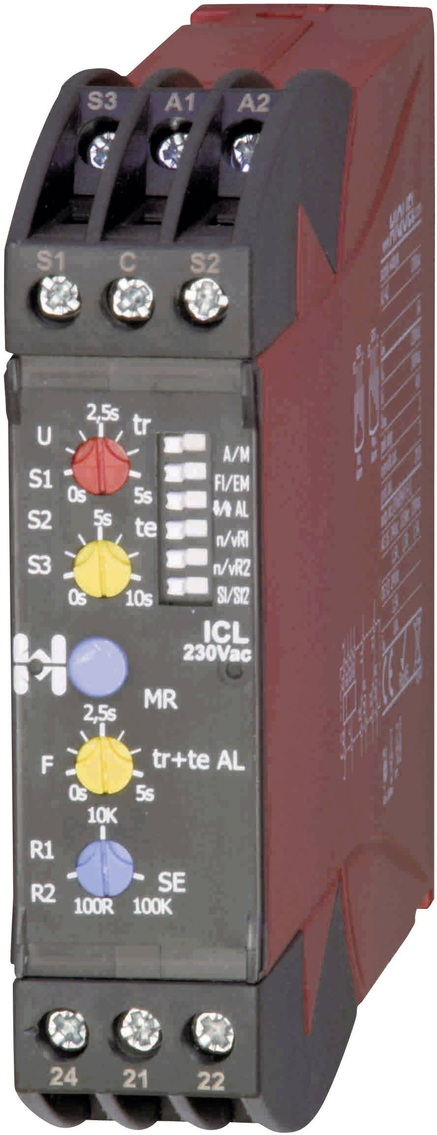 Monitorovací relé in-case Hiquel, ICL 230Vac, in-case