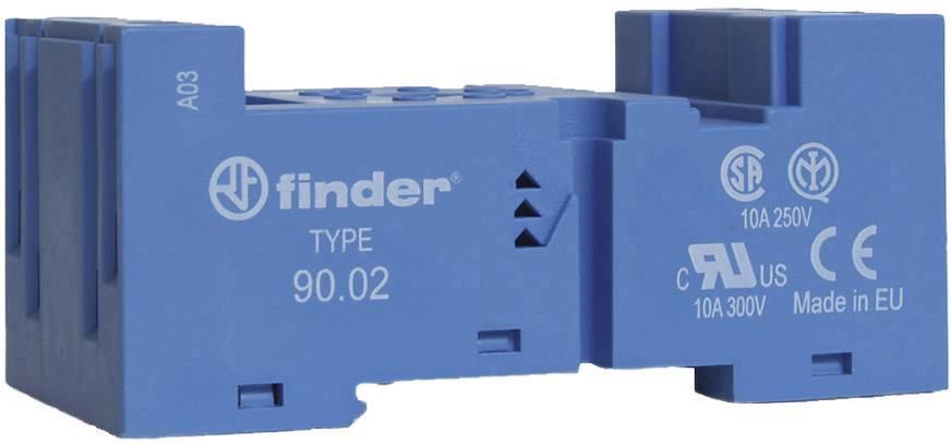 Šroubová patice Finder 90.02 pro lištu DIN