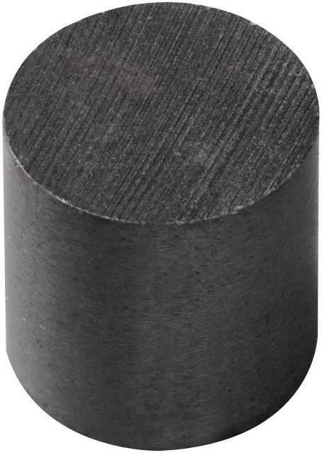 Permanentný magnet valcový Elobau 300010, (Ø x v) 10 mm x 10 mm, BaO