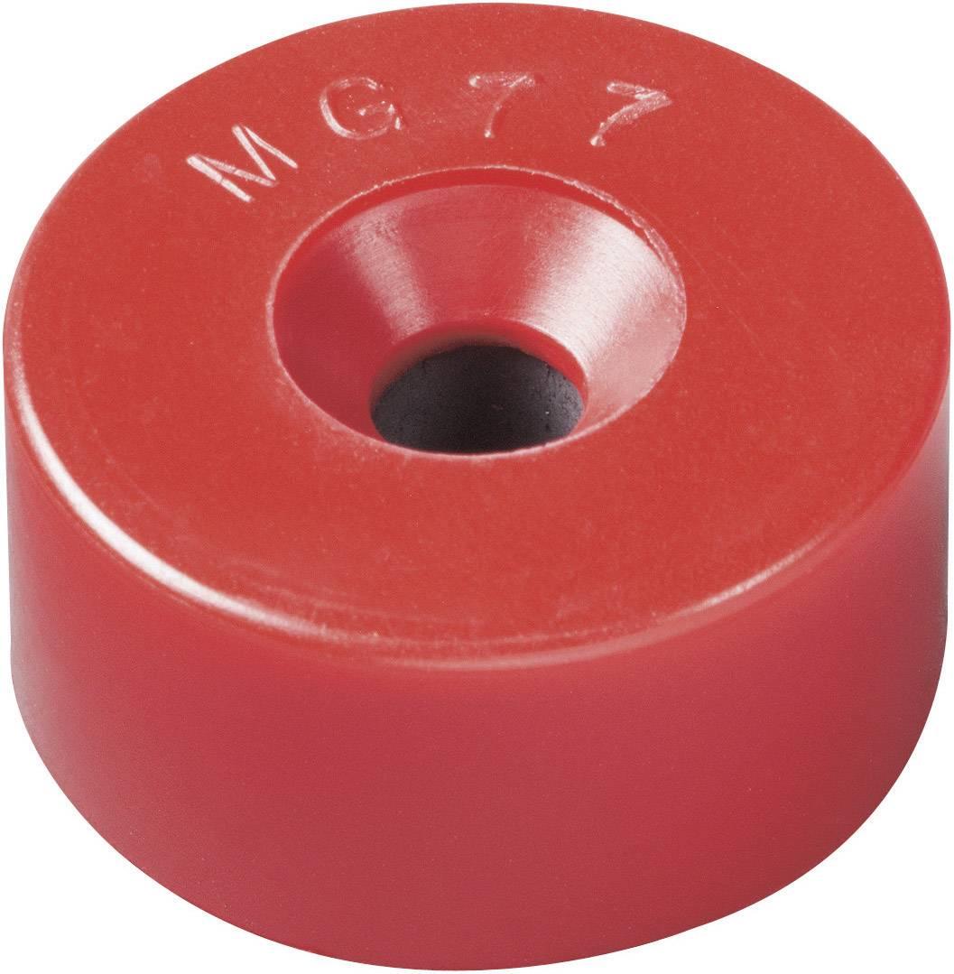 Permanentný magnet kruh Elobau 300770, (Ø x v) 22.5 mm x 11 mm, BaO