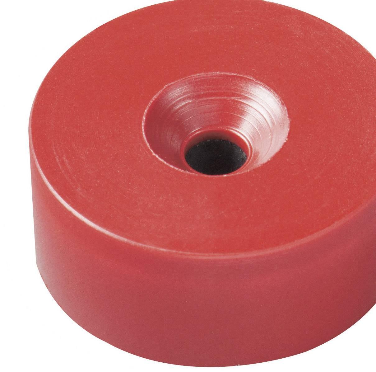 Permanentný magnet kruh Elobau 300780, (Ø x v) 26 mm x 11 mm, BaO