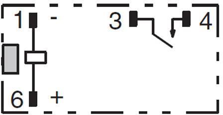 Relé do DPS 12 V/DC 5 A 1 spínací kontakt Omron G6B-1114P-US 12 VDC 1 ks