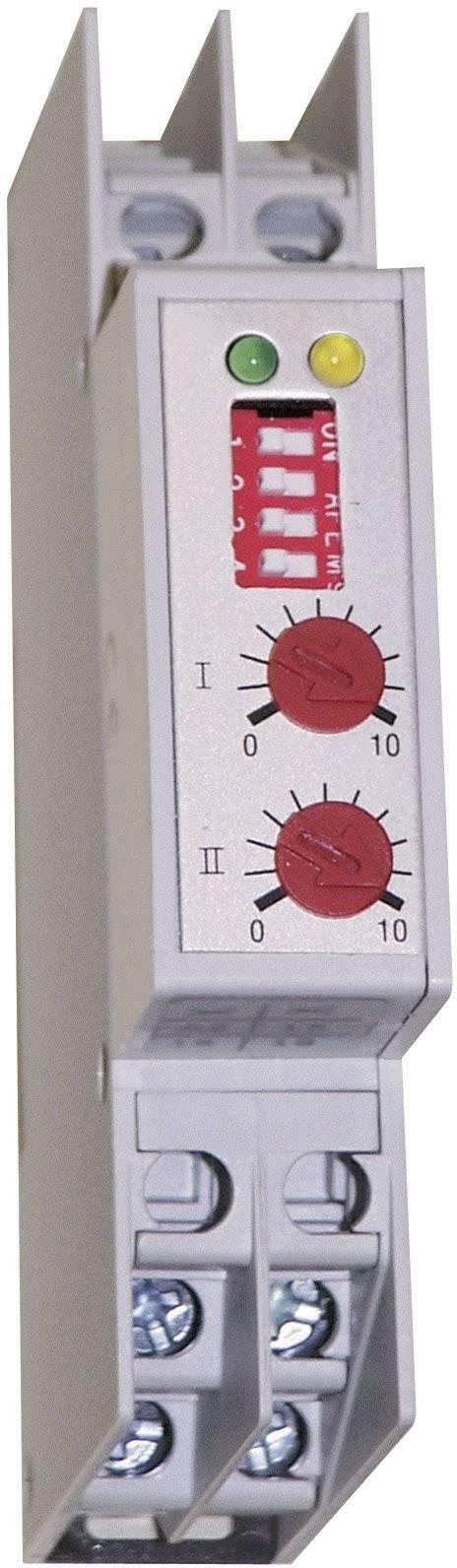 Časové relé monofunkčné HSB Industrieelektronik ZTG1 011172, čas.rozsah: 0.15 s - 60 min, 1 prepínací, 1 ks