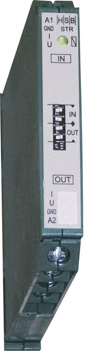 HSB Industrieelektronik 016017, STR, vstup 0(2) - 10 V/0(4) - 20 mA výstup 0(2) - 10 V/0(4) - 20 mA