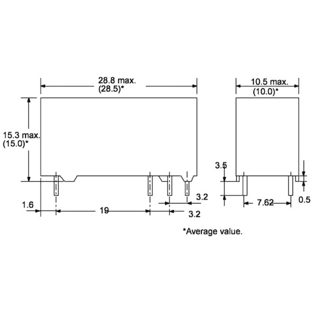 Power relé do DPS Omron G6RN-1 24DC, 8 A , 30 V/DC/400 V