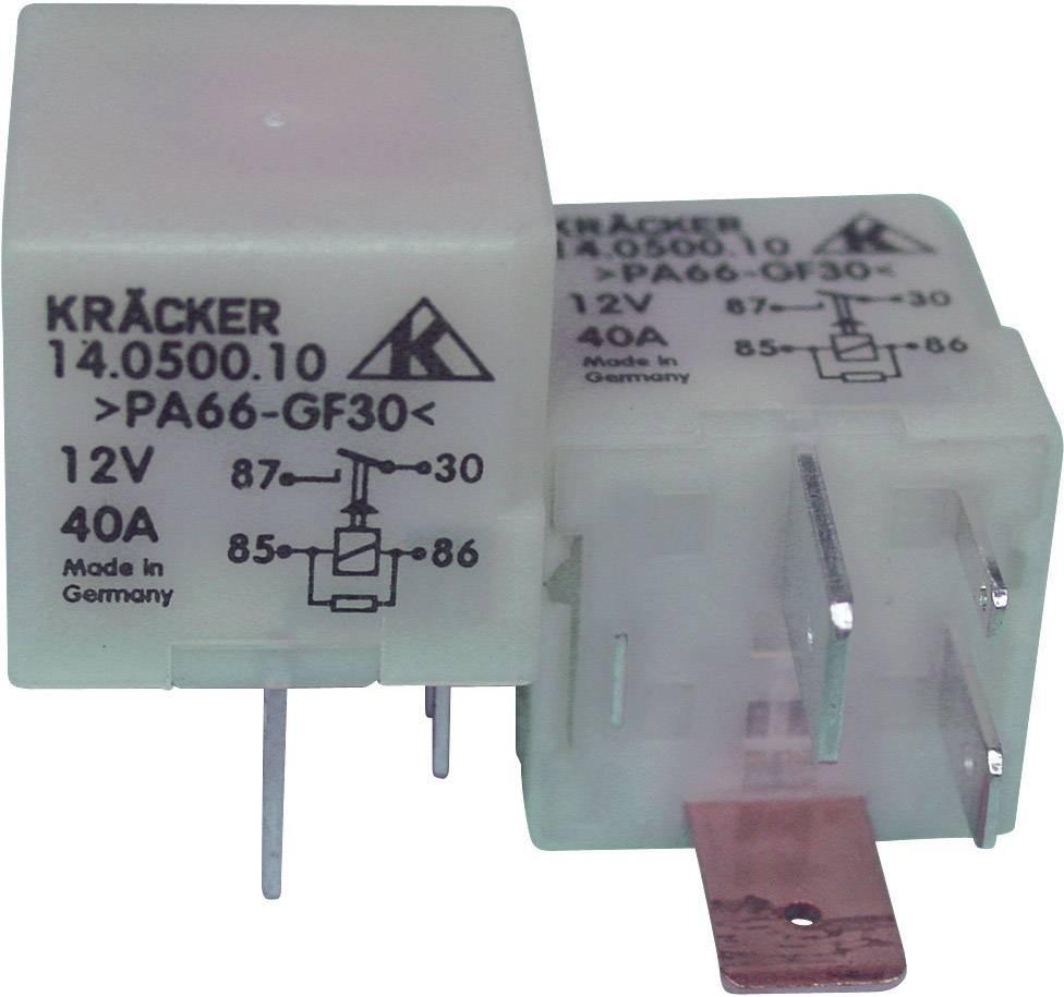 Automobilové relé Kräcker 14.0500.10, 12 V, 15 A, pro benzinové čerpadlo