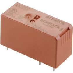 RT - výkonové relé pro DPS, 8 A, 2 x přepínací kontakty 230 V/AC TE Connectivity RT424730