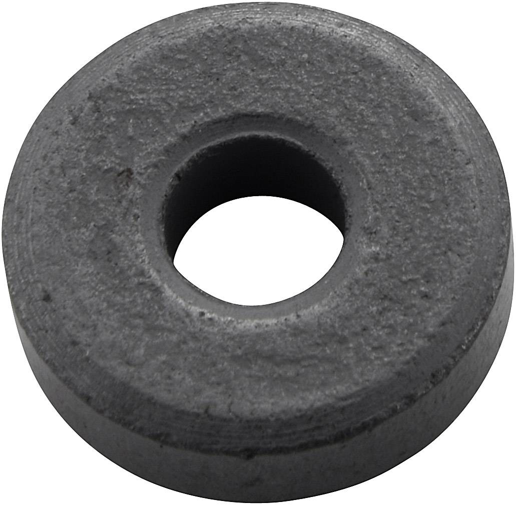 Permanentní magnet kruhový Y-10T, (Ø x d) 21 mm x 6 mm, BaFe