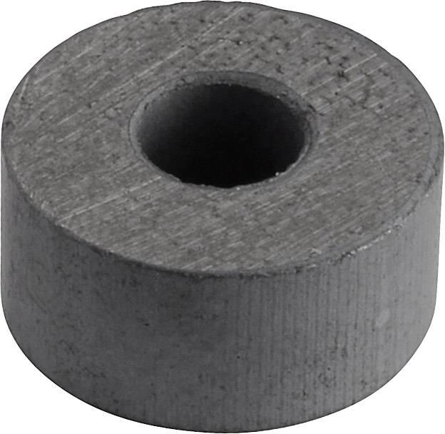 Permanentní magnet kruhový Y-10T, (Ø x d) 15 mm x 7 mm, BaFe