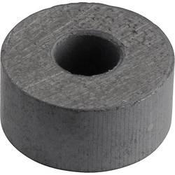 Permanentný magnet kruh Y-10T, (Ø x d) 15 mm x 7 mm, BaFe