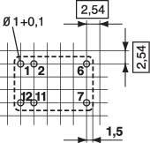 Doska s relé Conrad Components REL-PCB4 0 REL-PCB4 0