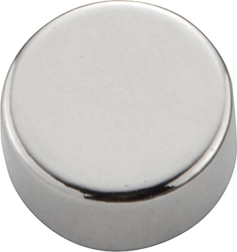 Permanentní magnet kulatý N-35, (Ø x d) 8 mm x 4 mm, N35