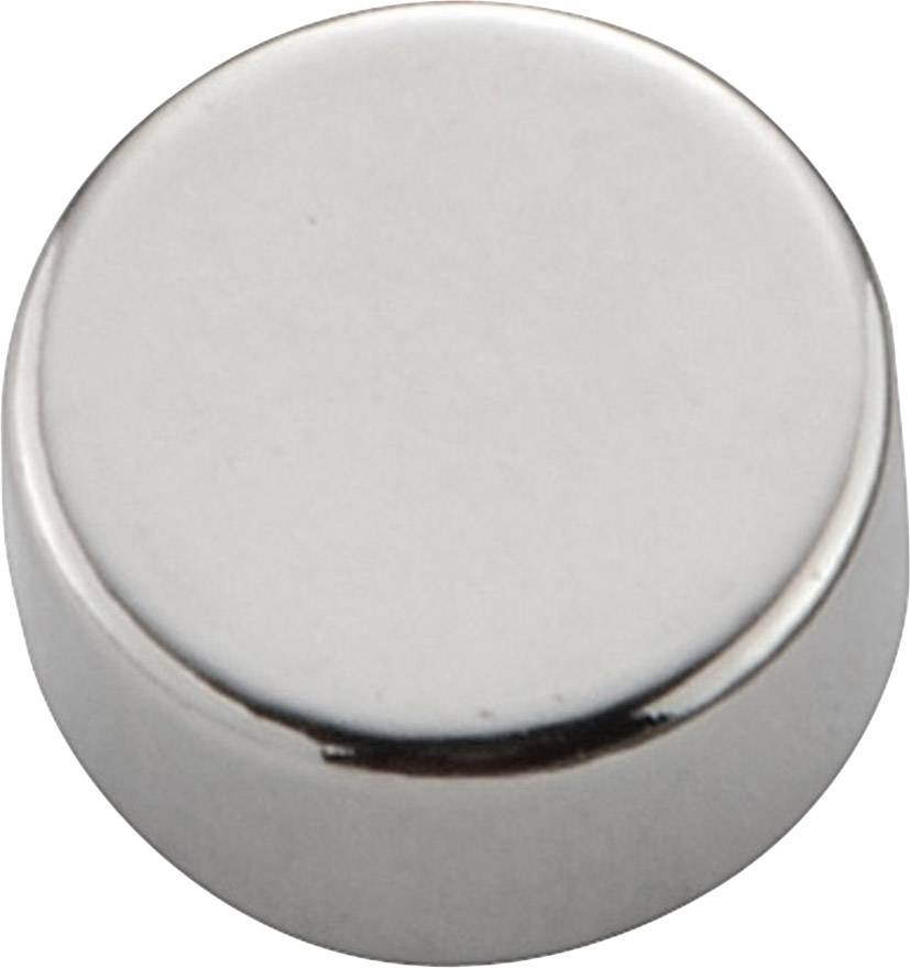 Permanentný magnet guľatý (Ø x d) 8 mm x 4 mm, N35