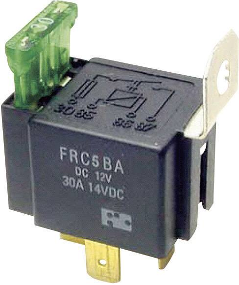 Automobilové relé FiC FRC5BA-DC12V, 12 V, 30 A