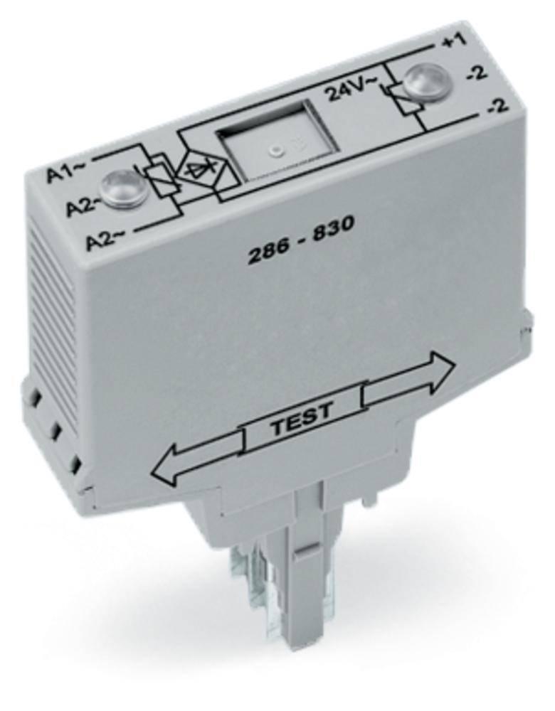 Modul můstkového usměrňovače s varistorem WAGO 286-830 vhodné pro sérii: Wago řada 280, vhodné pro Wago 280-628, Wago 280-638, Wago 280-764, 1 ks