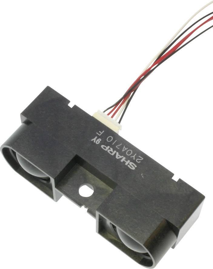 Senzor pro měření vzdálenosti Sharp GP2Y0A710K0F, rozsah 100 až 550 cm, 5 V/DC