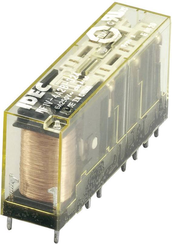 Relé s vedenými kontakty Idec RF1V-5A1BL-D24, 6 A 30 V/DC/250 V/AC 1500 VA/180 W